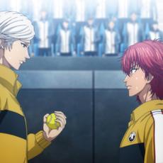 신 테니스의 왕자 효테이 vs 릿카이 : 게임 오브 퓨처 전편